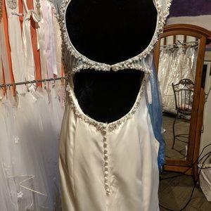Mary's Bridal Dresses - Mary's Bridal trumpet satin beading